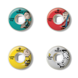 Element Skateboards - 52mm Peanuts Squad Skateboard Wheels