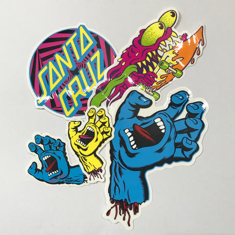 Santa Cruz - Sticker Pack
