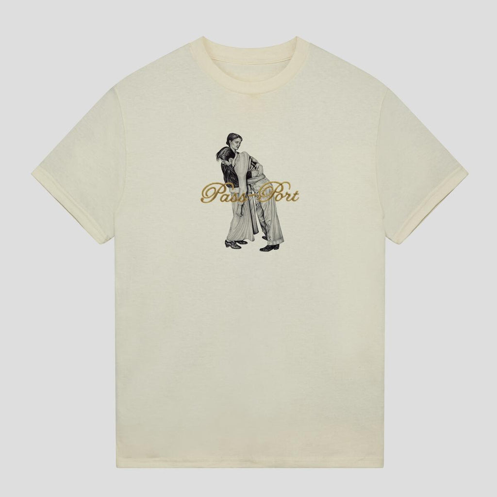 Pass Port Skateboards - Lean On Me T-Shirt - Natural