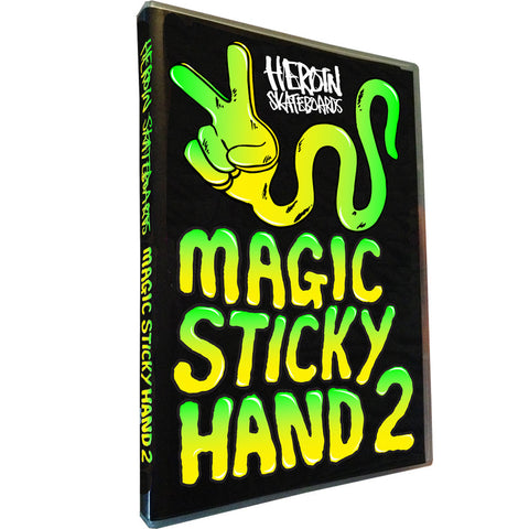 Heroin Skateboards - Magic Sticky Hand 2 DVD