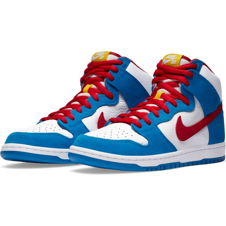 Nike SB - Dunk High Pro ISO - LT Blue / University Red