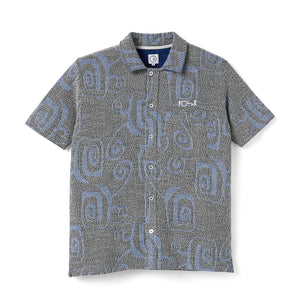 Polar Skate Co. - Patterned Shirt - Black