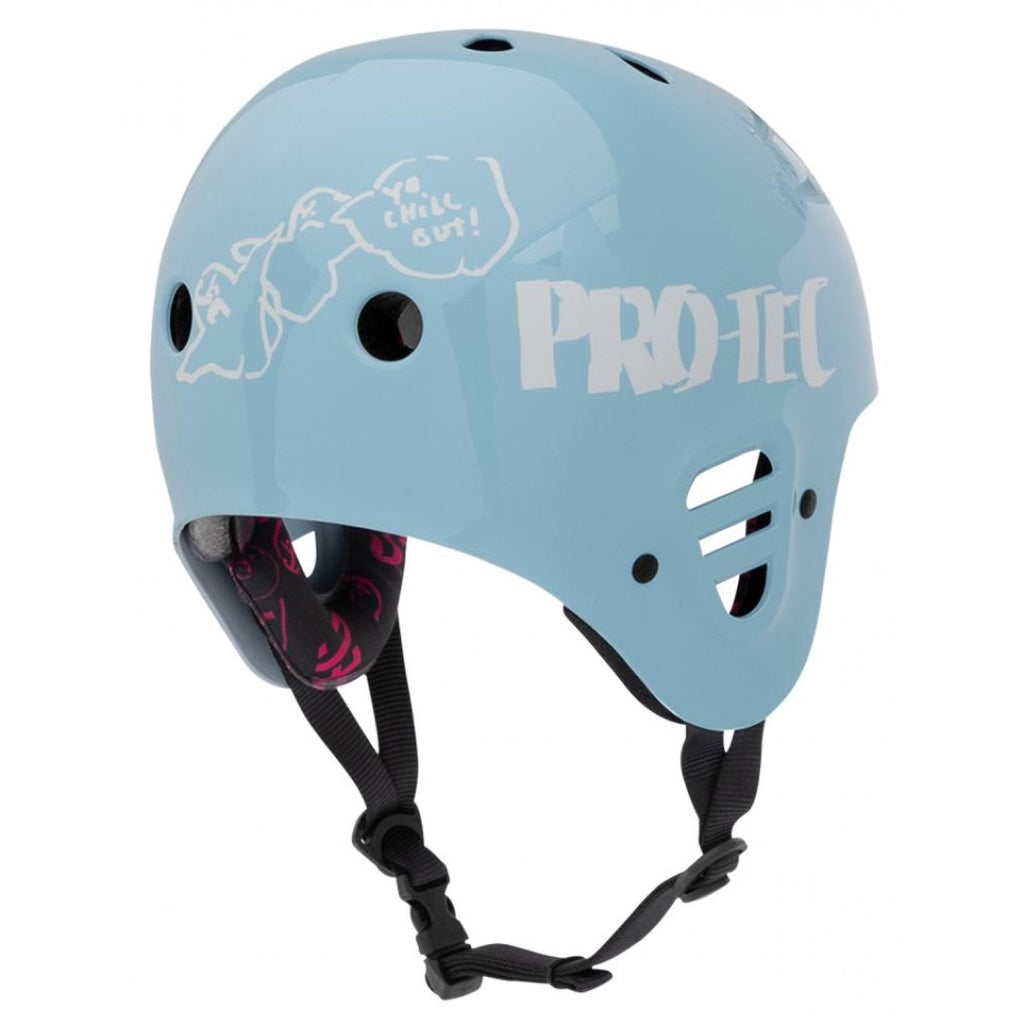Pro-Tec - Full Cut Cert Gonz 2 Helmet - Large - Light Blue