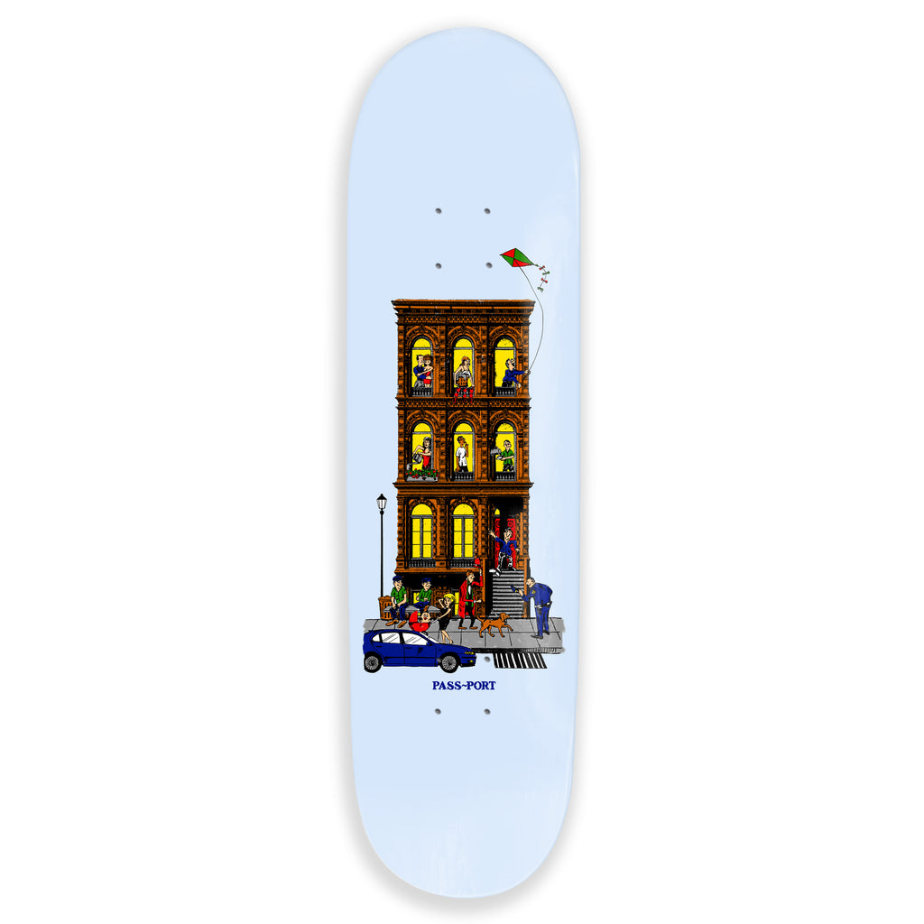 "Pass Port Skateboards - 8.38"" Day And Night Skateboard Deck - Day"