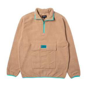 Rip N Dip - Repeat Half Zip Fleece - Natural