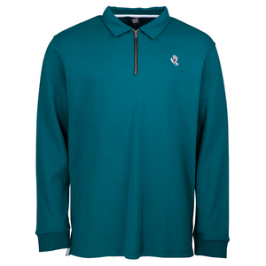 Santa Cruz - Mini Mono Hand Polo Sweatshirt - Petrol Blue