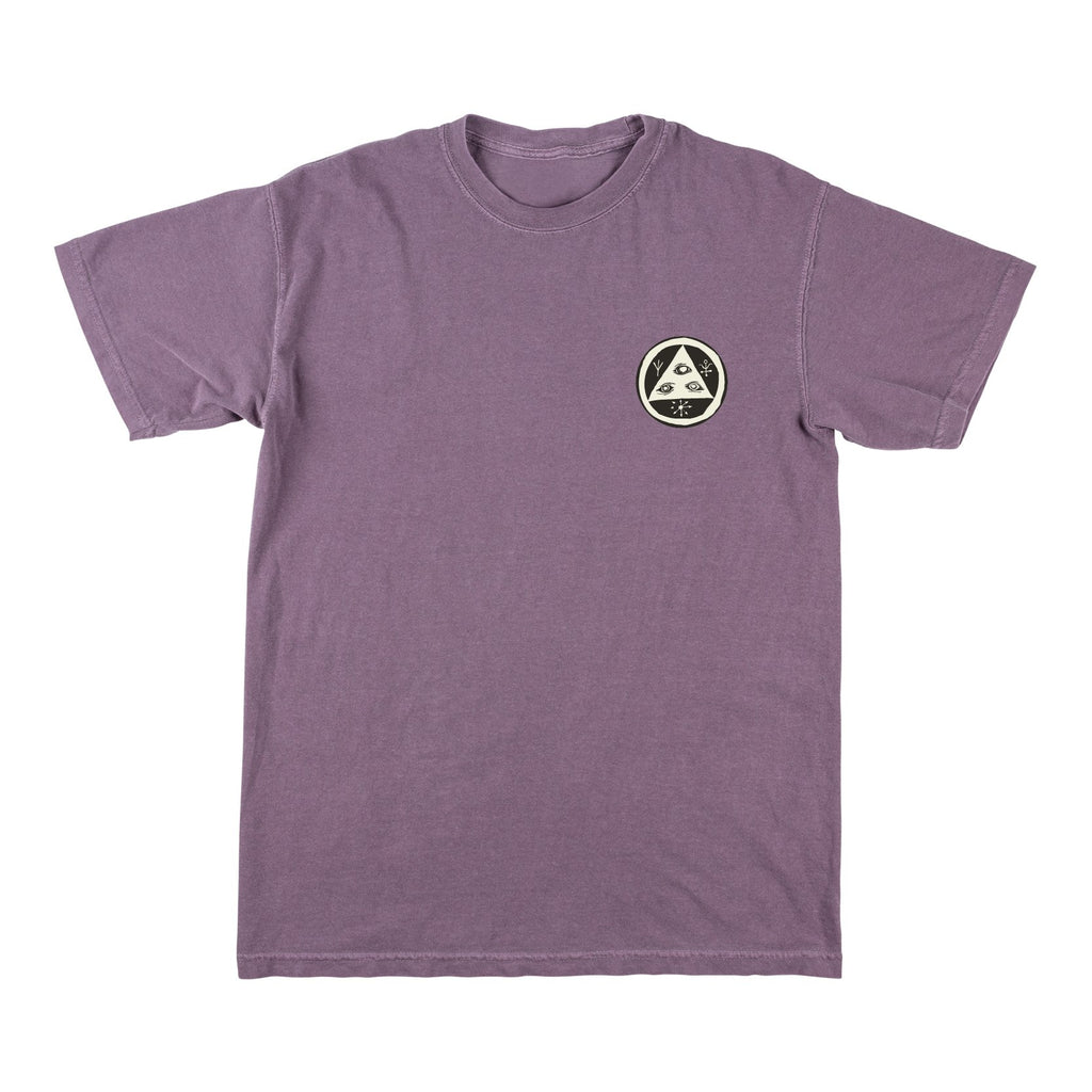 Welcome Skateboards - Sloth Garment Dye T-Shirt - Wine