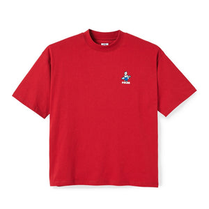 Polar Skate Co. - Surf T-Shirt - Cherry