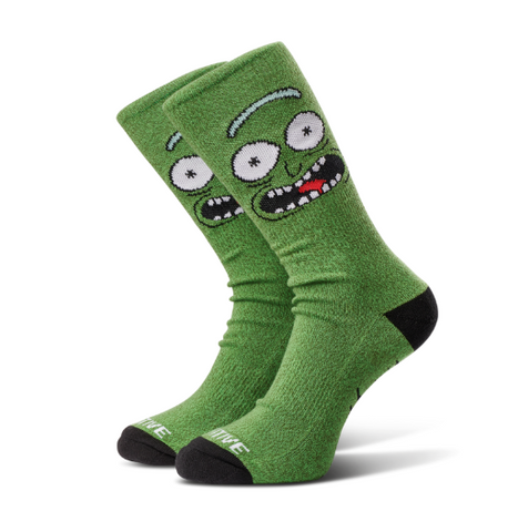 Primitive Skateboards - Pickle Rick Socks - Green