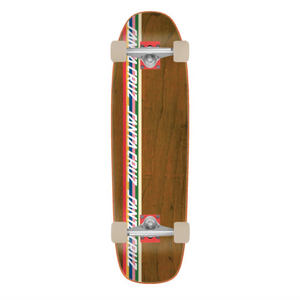 Santa Cruz - Stripe Strip 80's Cruiser Complete Skateboard