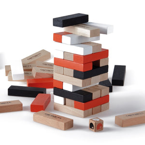 Carhartt WIP - Wooden Stacking Blocks Game