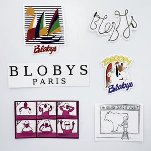 Blobys Paris - Sticker Pack