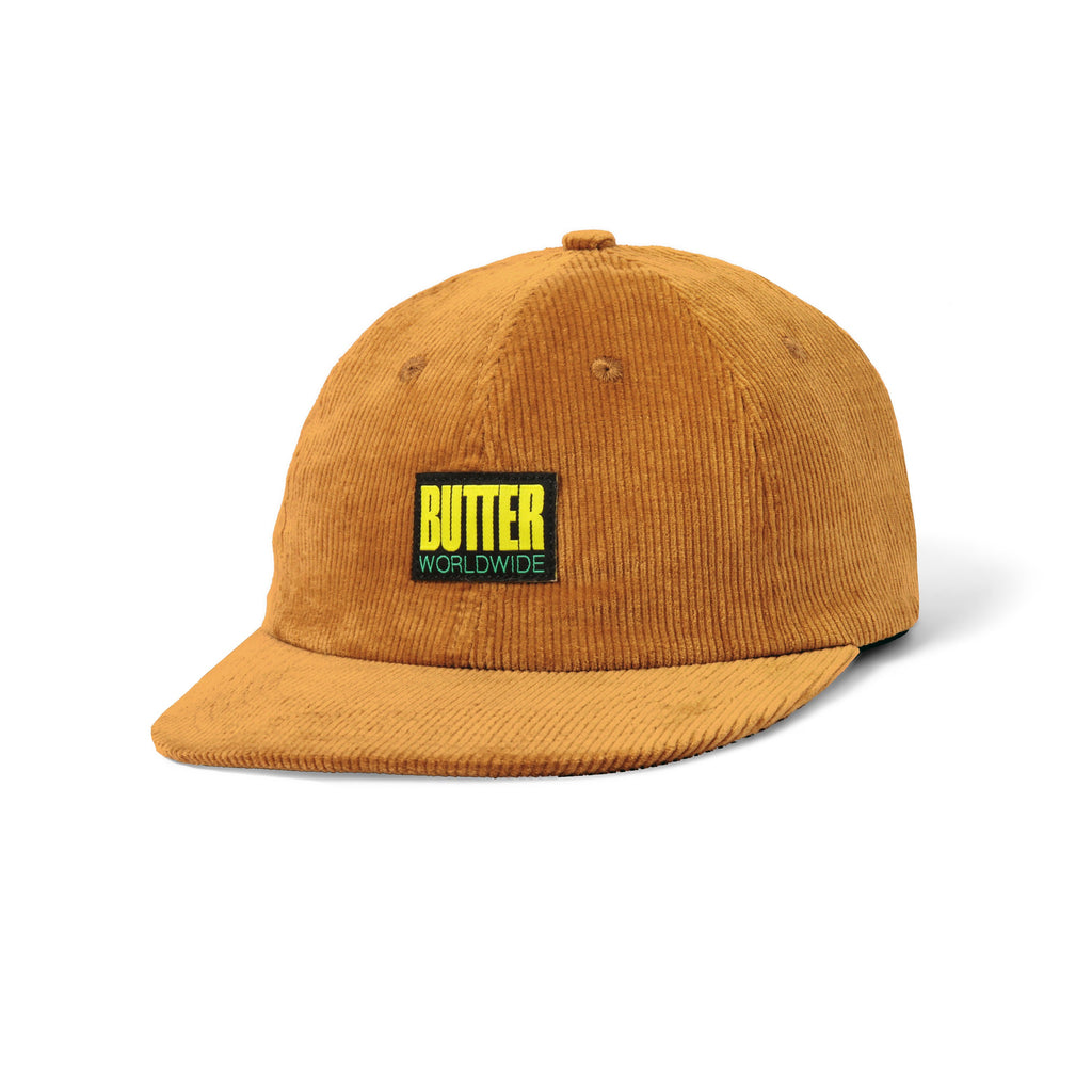 Butter Goods - Thomas Corduroy 6 Panel Cap - Brown