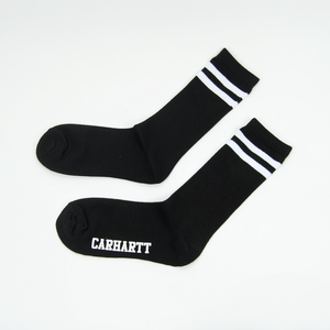 Carhartt WIP - College Socks - Black / White