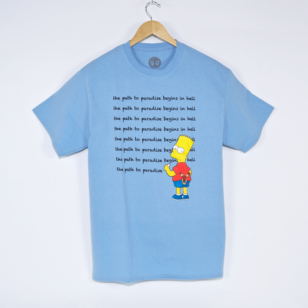 Paradise - Existential Bart T-Shirt - Blue