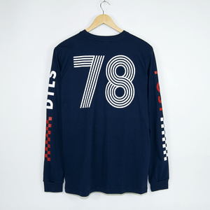 Post Details - Class Of 78 Longsleeve T-Shirt - Navy