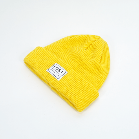Post Details - Classic Beanie - Yellow