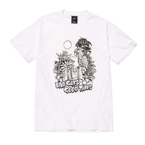 Huf - Vacation UV Colour T-Shirt - White