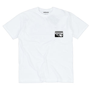 Welcome Skate Store - VX T-Shirt (Preorder) - White
