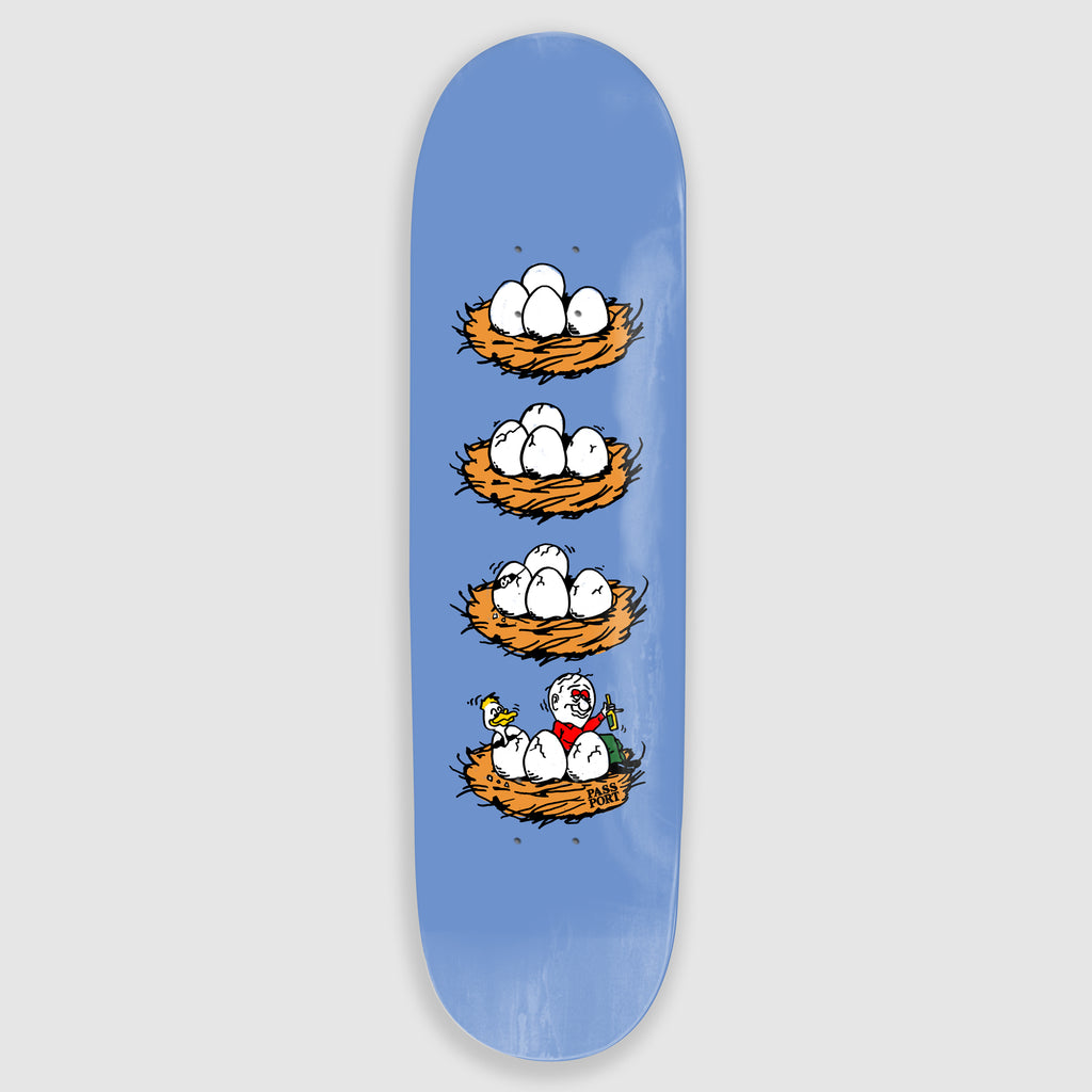 "Pass Port Skateboards - 8.25"" What U Thought Eggs Skateboard Deck"