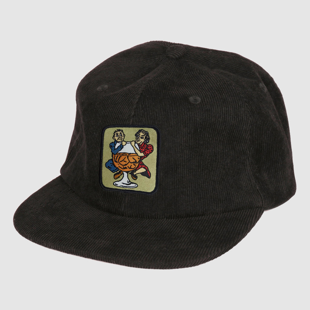 Pass Port Skateboards - With A Friend 5-Panel Cap - Black