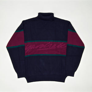 Yardsale - South Bay Roll-Neck Sweatshirt - Indigo