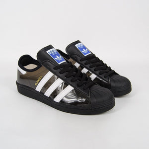 Adidas Skateboarding - Blondey x Superstar 80's Shoes - Core Black / Footwear White / Core Black