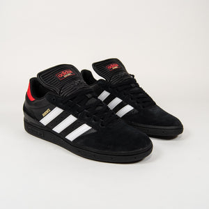 Adidas Skateboarding - Busenitz Shoes - Core Black / Footwear White / Vivid Red