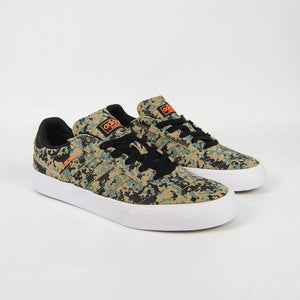 Adidas Skateboarding - Busenitz Vulc 2 Shoes - Core Black / Digi Camo / Footwear White