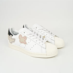 Adidas Skateboarding - Gonz x Superstar ADV Shoes - Cloud White / Core Black / Chalk White