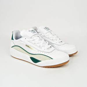 Adidas Skateboarding - Liberty Cup Shoes - Cloud White / Collegiate Green / Bliss