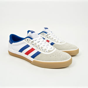 Adidas Skateboarding - Lucas Premiere ADV Shoes - Cloud White / Collegiate Royal / Crystal White