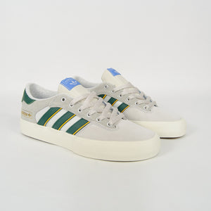 Adidas Skateboarding - Matchbreak Super Shoes - Crystal White / Collegiate Green / Yellow