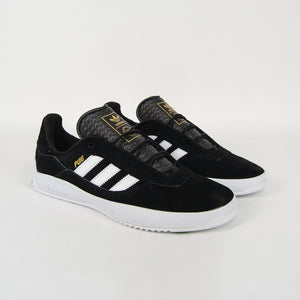Adidas Skateboarding - Puig Shoes - Core Black / Footwear White / Vivid Green