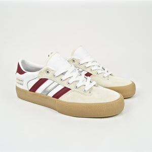 Adidas Skateboarding - Shin Sangbongi Matchbreak Super Shoes - White / Collegiate Burgundy / Gum