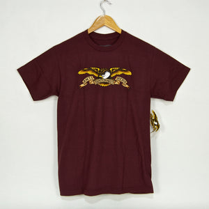 Anti Hero Skateboards - Eagle T-Shirt - Dark Maroon / Multi