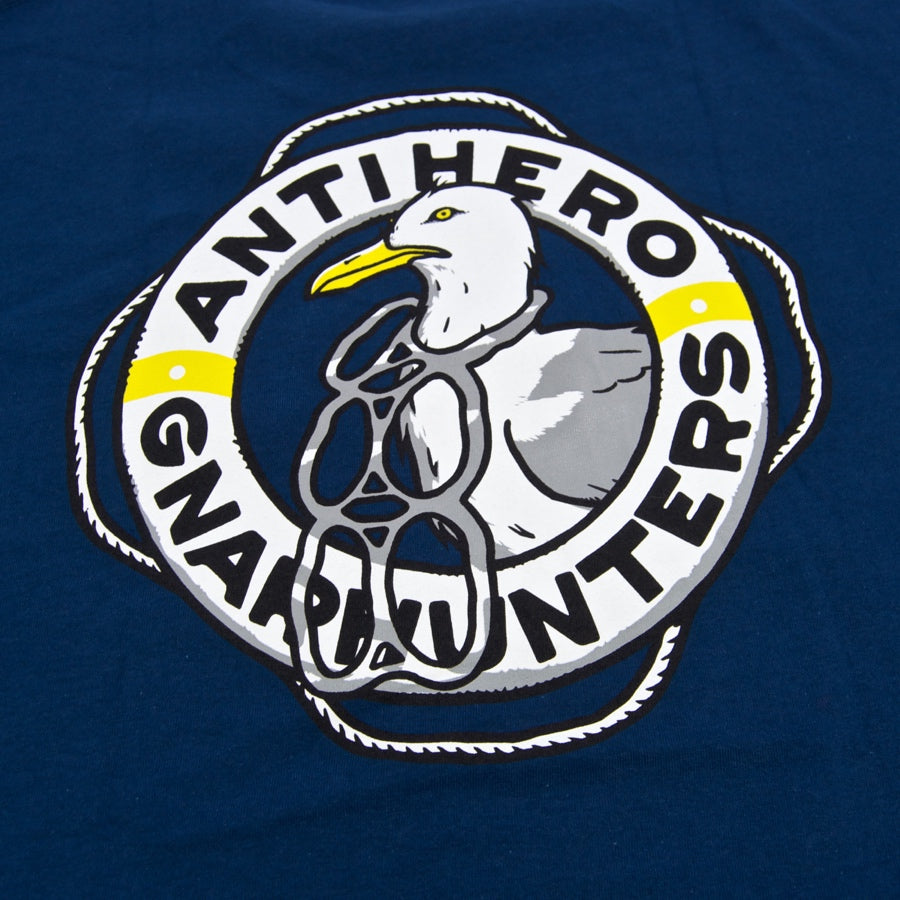 Anti Hero Skateboards - Gnarhunters T-Shirt - Harbour Blue