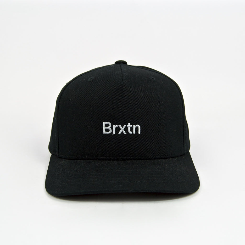 Brixton MFG - Gate II MP Snapback Cap - Black