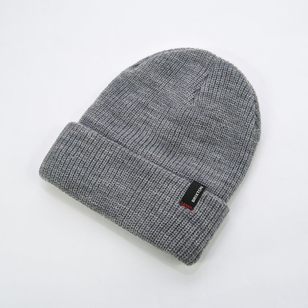 Brixton MFG - Heist Beanie - Light Heather Grey
