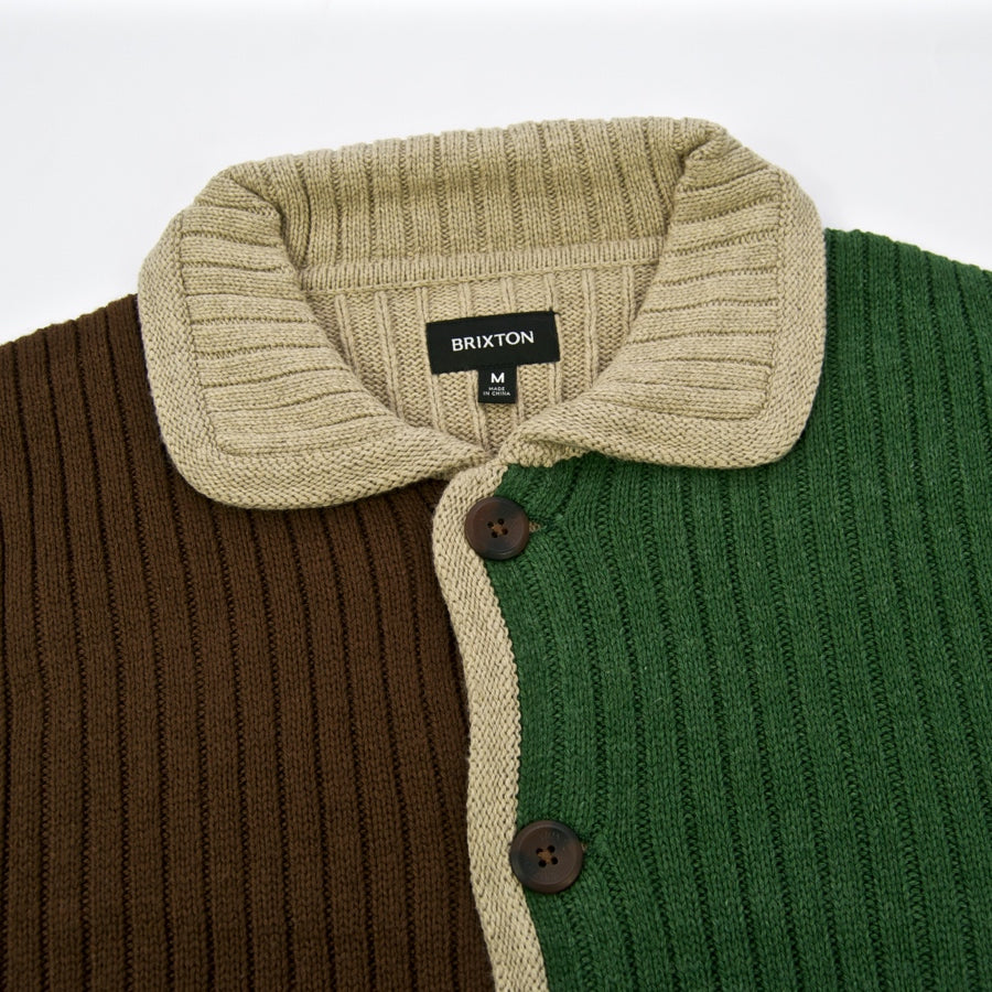Brixton MFG - Powell Knitted Cardigan - Multi