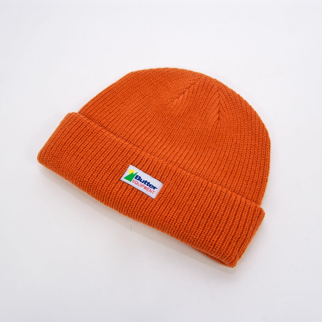 Butter Goods - Equipment Beanie - Rust