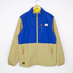 Butter Goods - Search Jacket - Khaki / Royal