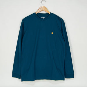 Carhartt WIP - Chase Longsleeve T-Shirt - Corse / Gold