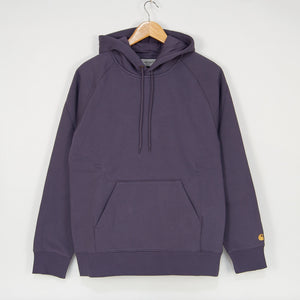 Carhartt WIP - Chase Pullover Hooded Sweatshirt - Provence / Gold