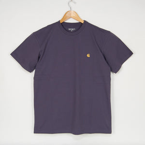 Carhartt WIP - Chase T-Shirt - Provence / Gold