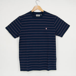 Carhartt WIP - Denton Stripe T-Shirt - Space / Malaga