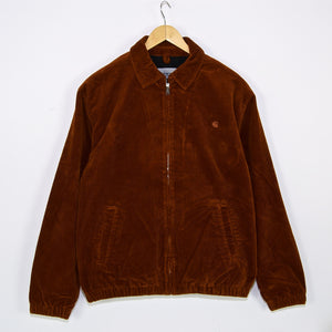 Carhartt WIP - Madison Corduroy Jacket - Brandy (Rinsed)