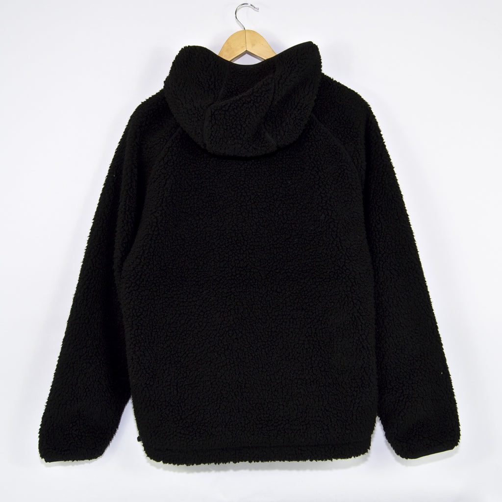 Carhartt WIP - Prentis Pullover Hooded Fleece Jacket - Black