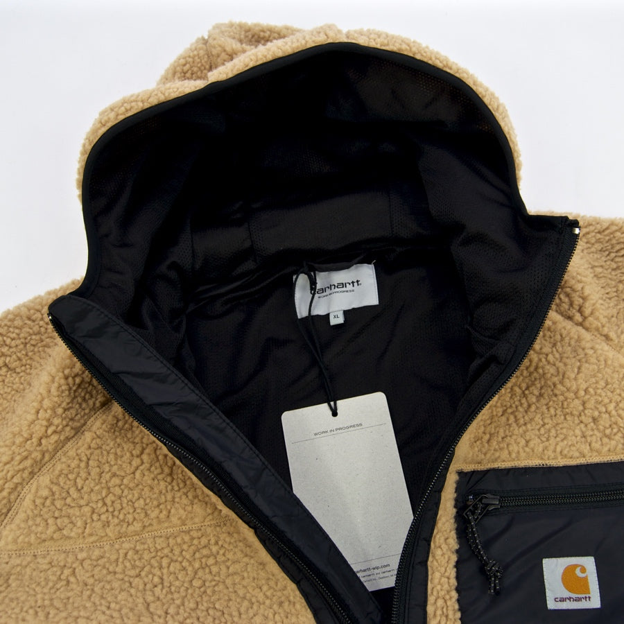 Carhartt WIP - Prentis Pullover Hooded Fleece Jacket - Dusty Hamilton Brown