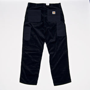 Carhartt WIP - Single Knee Corduroy Pant - Dark Navy (Rinsed)